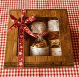 Geschenkböxli klein mit Steinhofprodukten