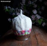 bunte Babymütze Strickmütze Mütze gestrickt KU 36 cm bis 40 cm