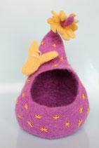 Dunkellila Nest