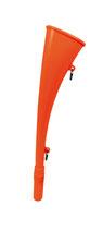 Nebelhorn aus ABS neonrot 150001