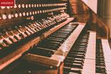 Ihr komponierter Name als Wandbild und individuelle Einspielung auf unserer Orgel