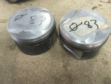 ccasion Lot de 2 pistons Forgé Wossner 83mm