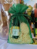 Geschenkset Zirbenzapfen und Zirbenöl bio