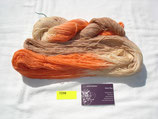 Merino 270 orange/grau/zartlachs