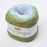 Spring Rainbow  55 - Grün-Hellhimmelblau-Malve