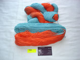 Merino 270 orange/türkis