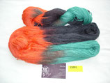 LanaSeta orangerot/grün/schwarz