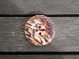 Knopf aus Holz mit Druck