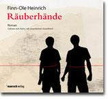 "Finn-Ole Heinrich - ""Räuberhände"" Hörbuch CD (Mängelexemplar)"