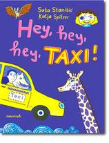 """Saša Stanišić & Katja Spitzer - """"Hey, hey, hey, Taxi!"""" (Buch)"""