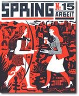 """SPRING #15 - """"Arbeit"""" (Mängelexemplar)"""