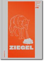 ZIEGEL #16 - Hamburger Jahrbuch für Literatur 2019