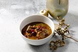 Civet de chevreuil aux légumes oubliés