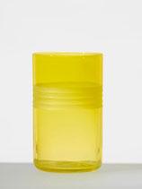 "Trinkglas ""Li|ni|en"": brilliantgelb"