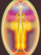 1 séance de nettoyage de l'aura et des corps subtils