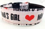 Klickverschluss Halsband Mamas Girl / 18.