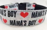 Klickverschluss Halsband Mamas Boy / 19.