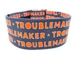 Klickverschluss Halsband Troublemaker / 22.