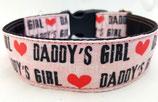 Klickverschluss Halsband Daddys Girl / 20.