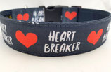 Klickverschluss Halsband Heartbreaker / 14.