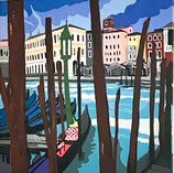 Venezia- vista sul mercato del pesce