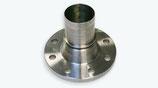 Festflansch-Kupplung Stahl verzinkt