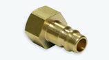 Druckluft-Kupplung DN 7,2 Stecknippel mit Innengewinde Messing