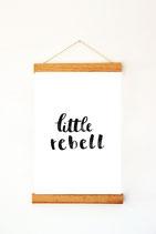 "Print ""little Rebell"""