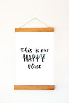 "Print ""This is our happy place"""