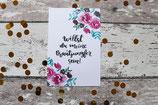 """Karte """"Willst du meine Brautjungfer sein?"""