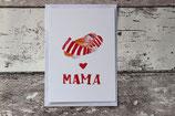 """Postkarte """"Mama"""""""