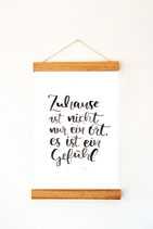 "Print ""Zuhause"""