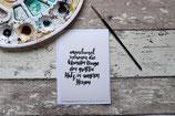 "Postkarte "" kleinen Dinge"""