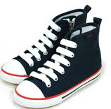 Zip Hi Top-Navy