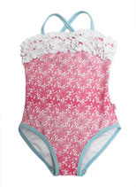 Floatimini - Pink Lace Print