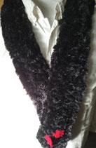 Bont sjaal black velvet