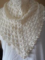 Gehaakte driehoekige sjaal Anja