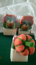 Pumpkin felting package
