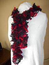 Gebreide ruffles sjaal