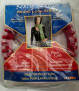 Breiring knifty knitter rond rood