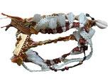 Armband Ibiza stijl wit