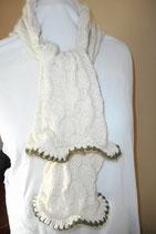 Gebreide sjaal Blanche