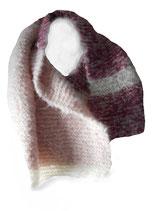 Gebreide sjaal Suikerspin