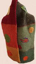 gebreide sjaal natuur