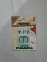 Madeira naaimachine naalden quilt