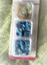 Pailletten blauw
