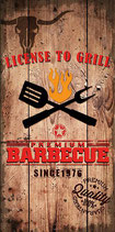 Serviette Licence to Grill