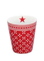 """Krasilnikoff Mug """"Red Daisy"""""""