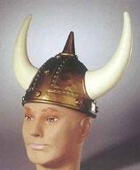 Helm mit Spitze und Hörnern