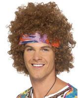 Perücke Afro- Hippie